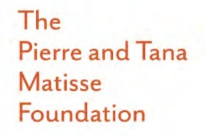 Funding Partner: Pierre and Tana Matisse Foundation